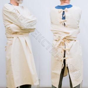медицинская смирительная рубашка халат