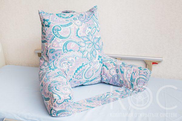 кресло подушка с подлокотниками