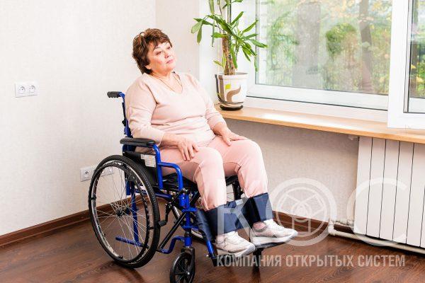 фиксатор ноги в инвалидной коляске