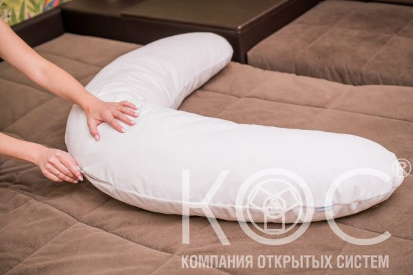 подушка в виде банана