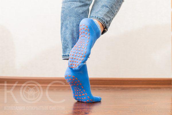 носки женские нескользящие