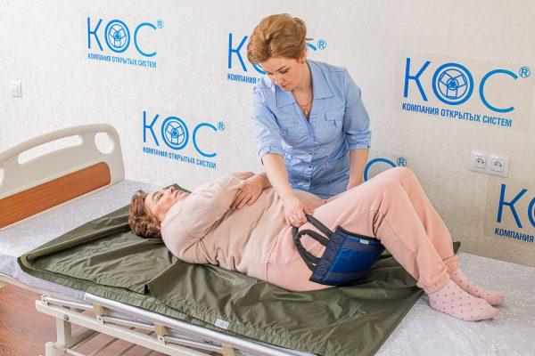 перемещение пациента в кровати
